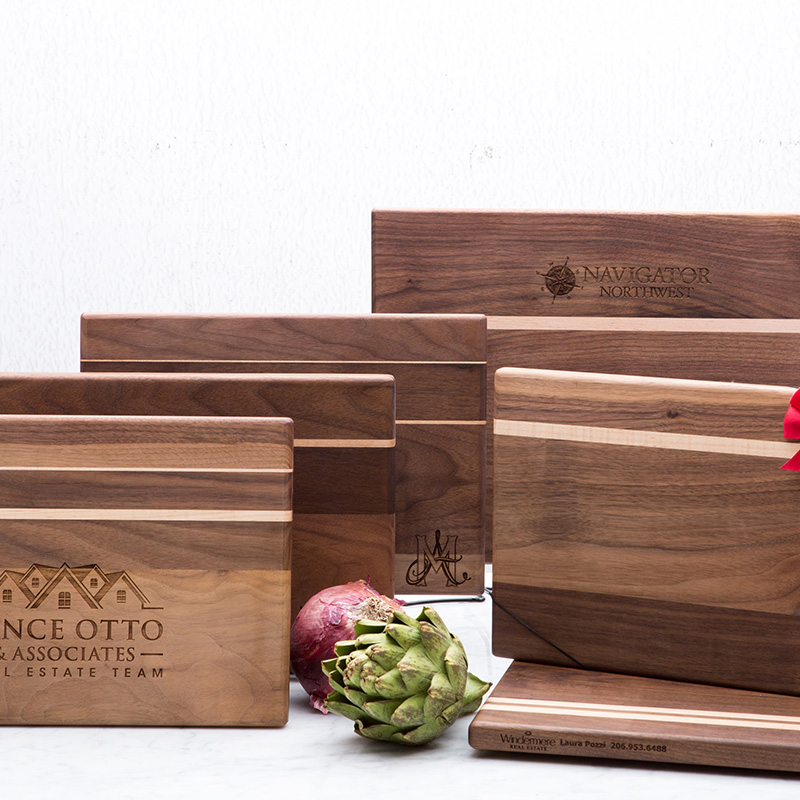 Small Walnut Cutting Board 9 X 13